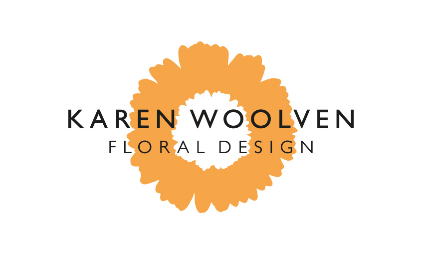 Logo design and branding for floral company