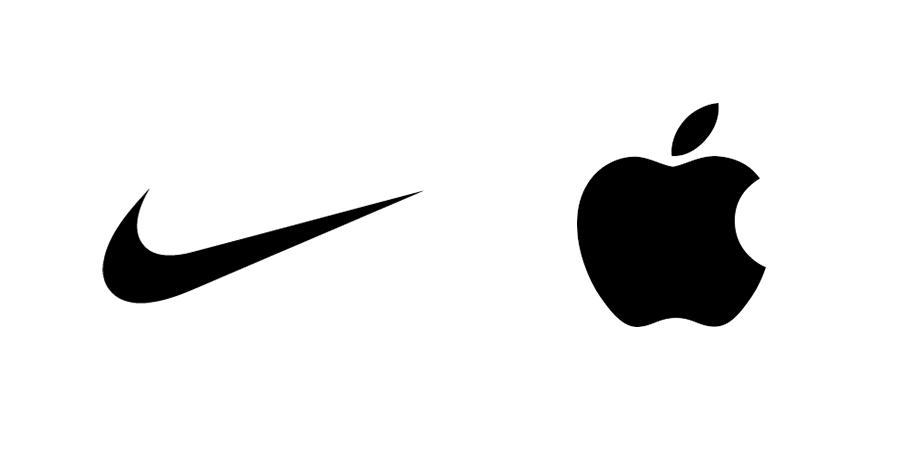 No colour logo design